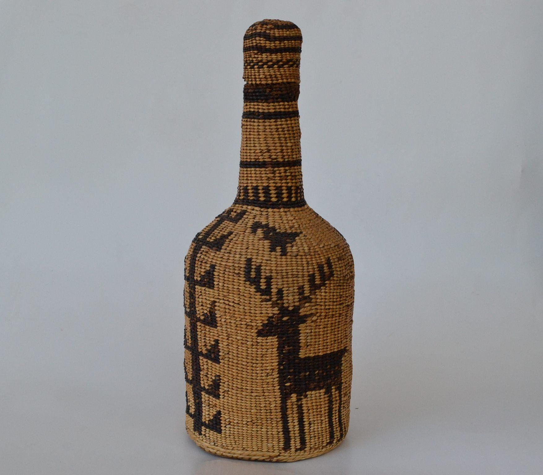 woven bottle pitt river hat creek baksets