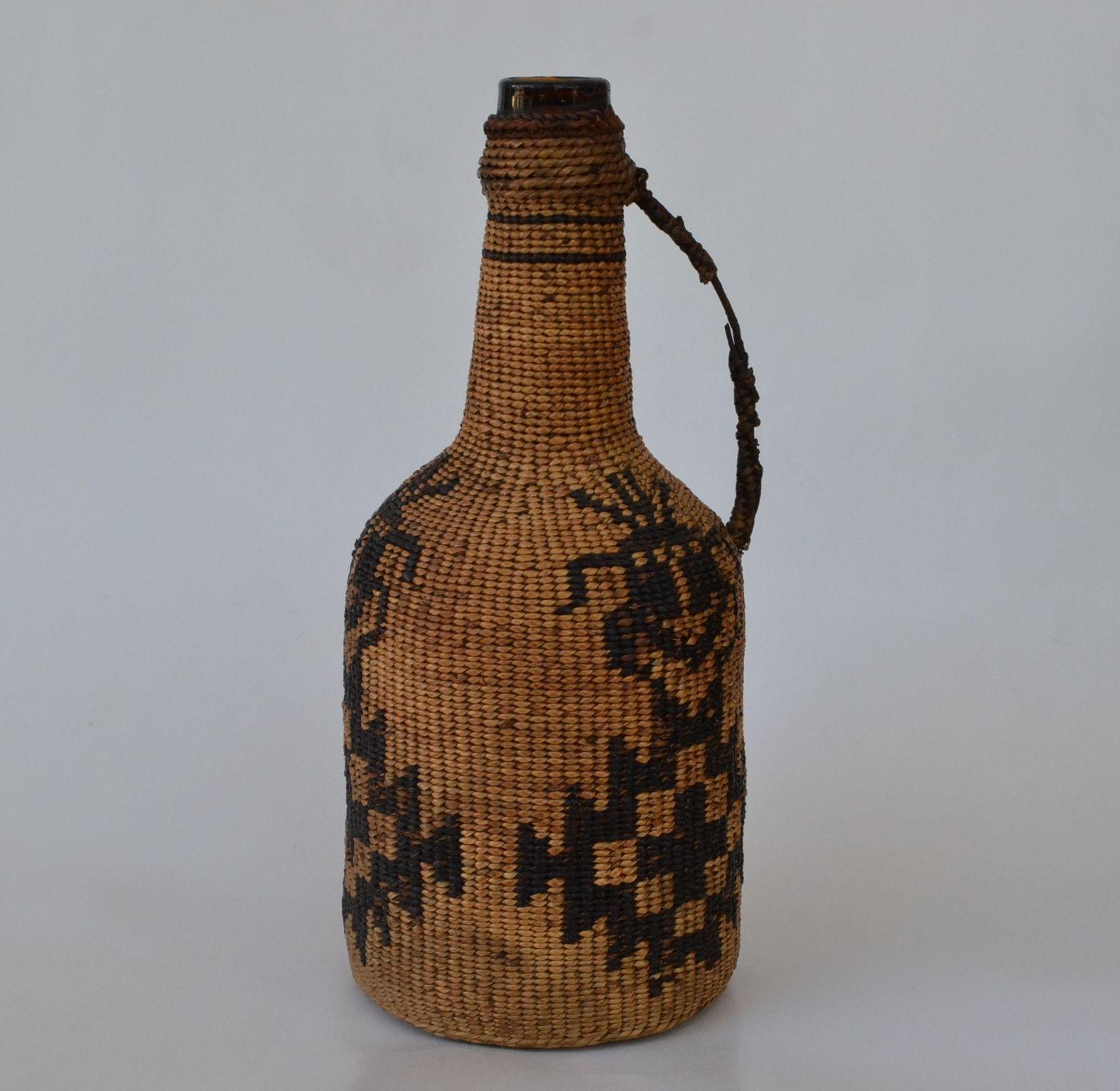 pit river hat creek bottle native american art