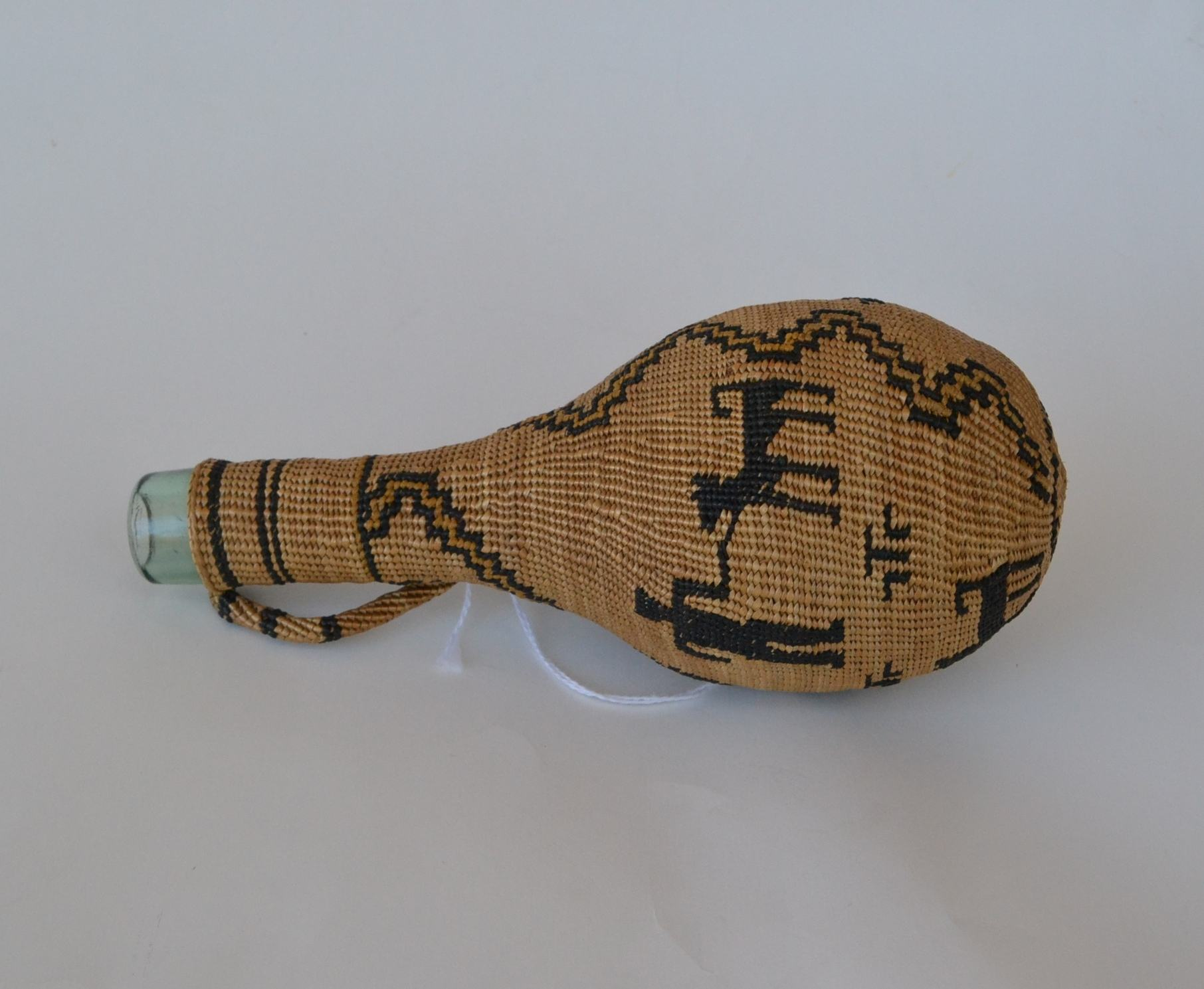 antique Indian baskets for sale pit river bottle