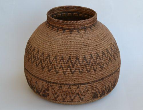 Chemehuevi basket Circa mid 19th century Bew#799