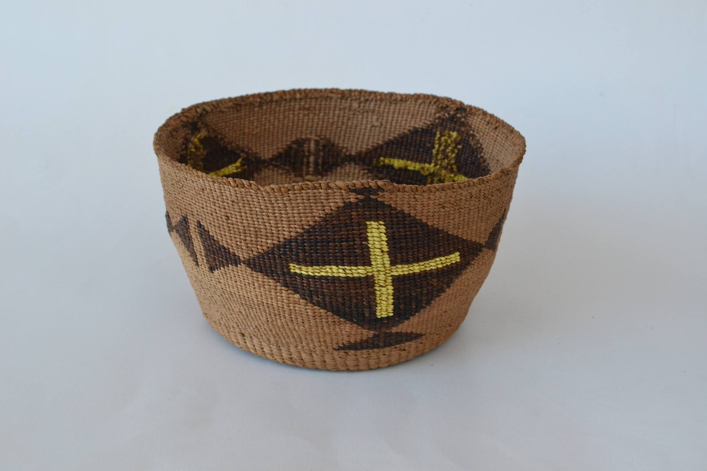 native american baskets klamath modoc quill basket