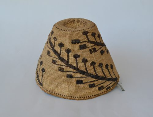 Klamath / Modoc Basketry Hat Circa 1900-20's Bew#831