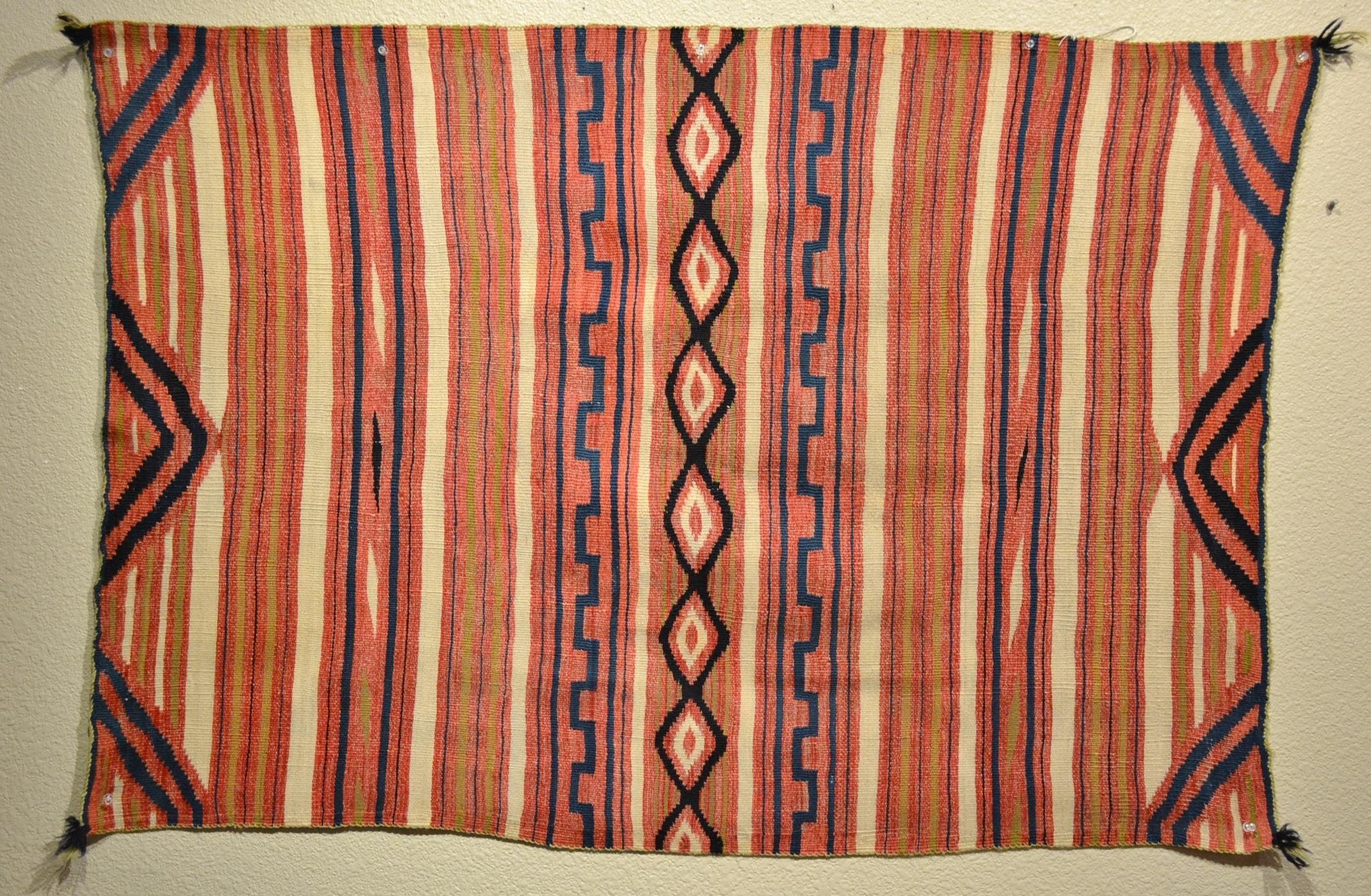 1870u0027s navajo classic blanket indigo bew821