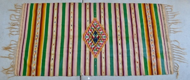 authentic mexican rugs for sale saltillo with flags and diamond