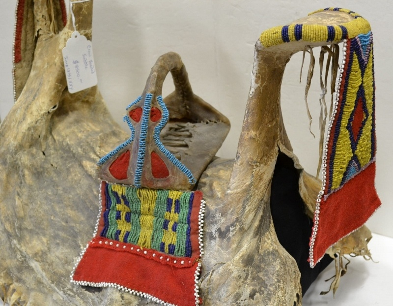 native american saddle for sale indian beadwork saddle