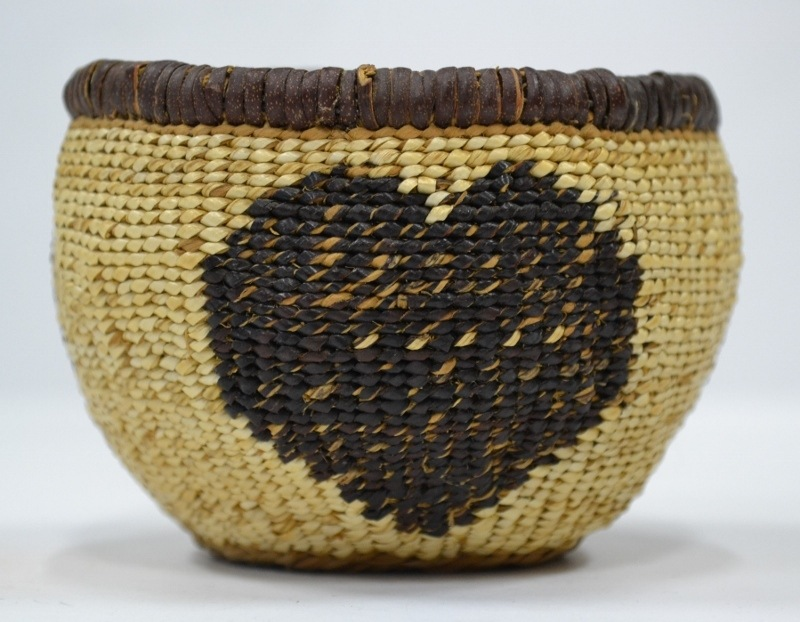 american indian baskets for sale pit river woven heart basket