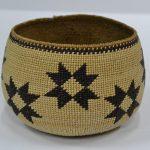antique indian baskets hupa basket star design