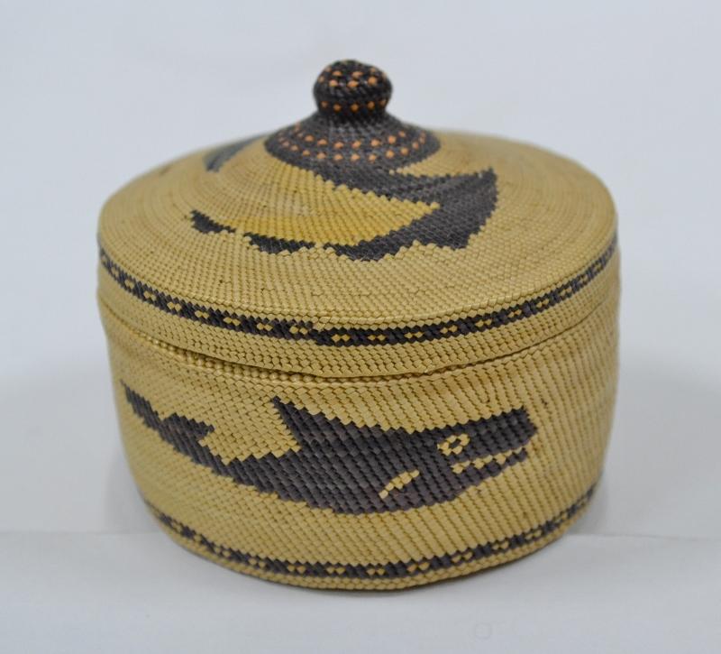 vintage indian baskets native american pictorial basket