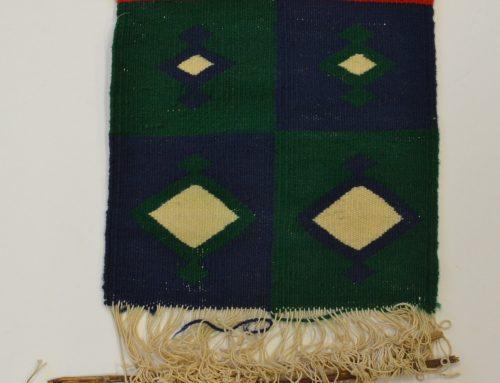 Navajo Germantown rug sampler circa 1900 Bew#700