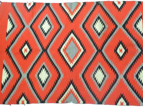 Navajo Germantown Rug circa 1880-1900 Bew#778