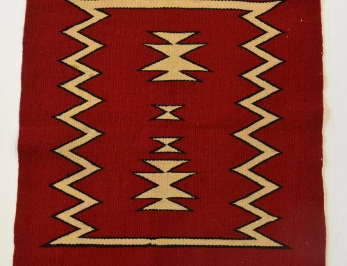 Navajo Germantown rug circa 1900-1920 Bew#779