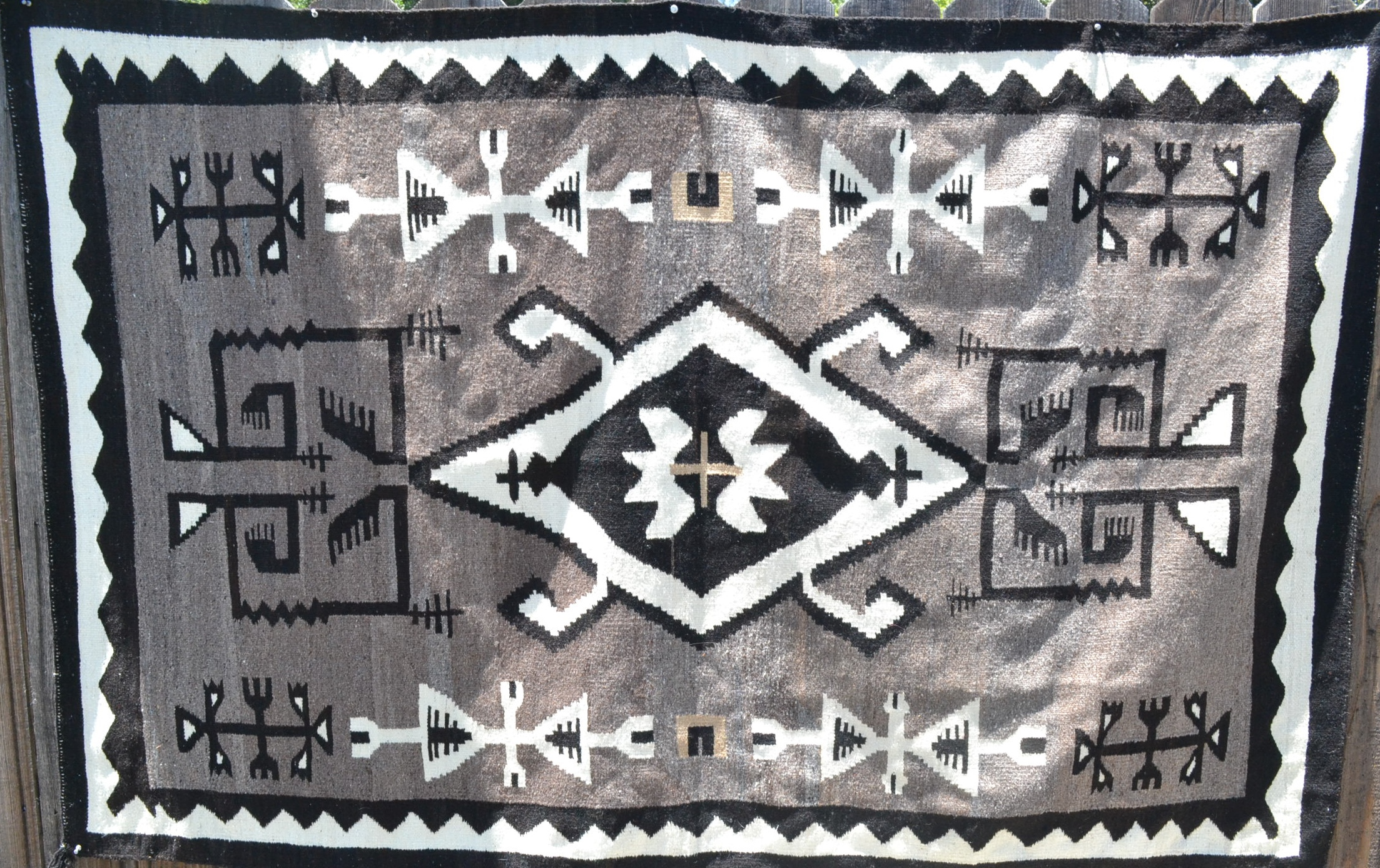 vintage native american rugs navajo 2 grey hills