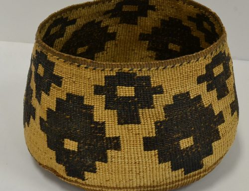 Wintu/Pit River/Hat Creek woven basket Bew#762