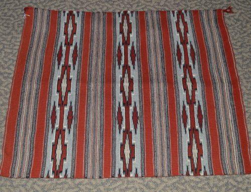 Navajo woven rug circa 1970's Bew#745