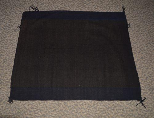 Hopi Indigo Twill Weave Rug Bew#746