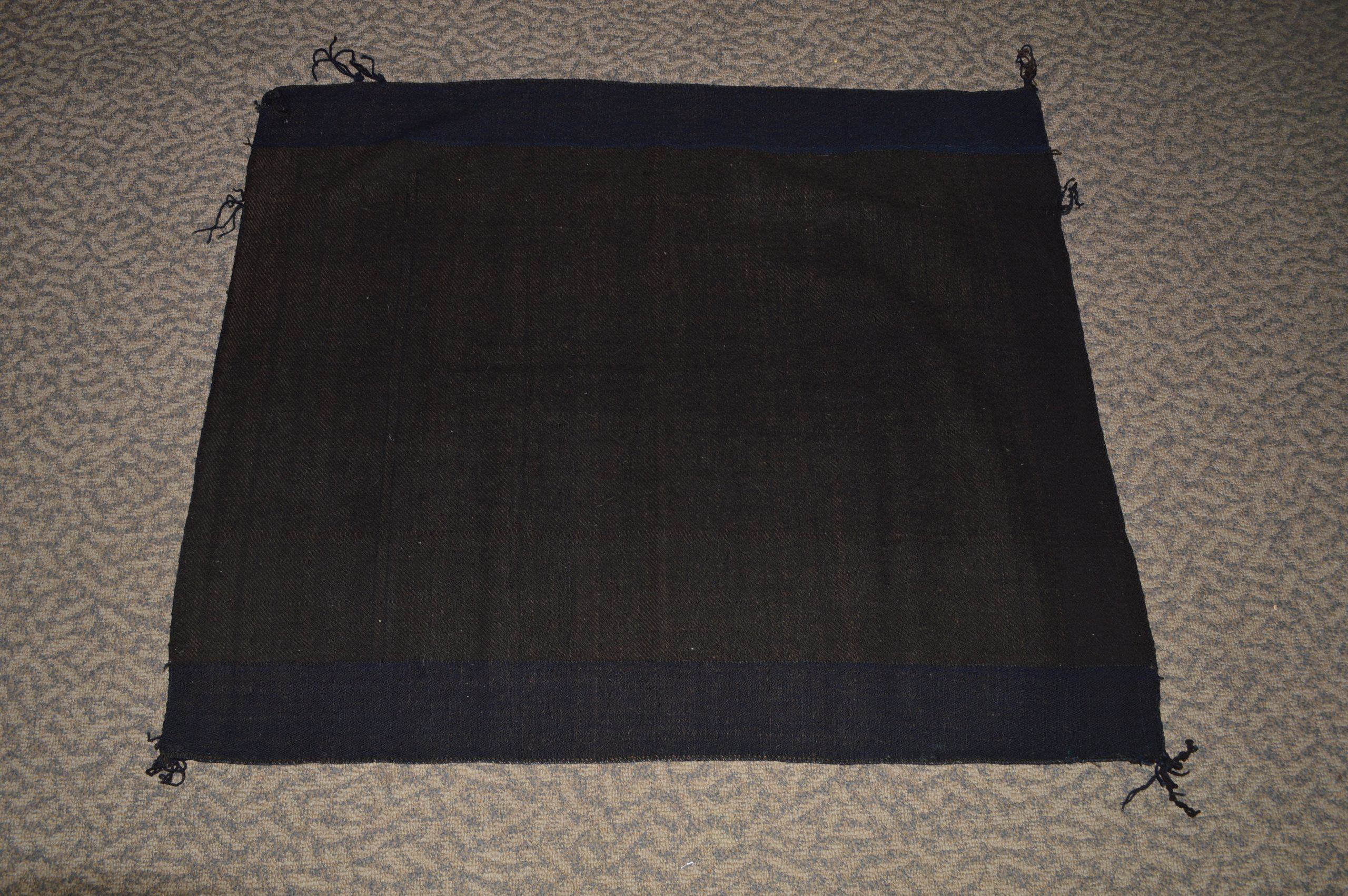Hopi Indigo Twill Weave Rug Bew 746