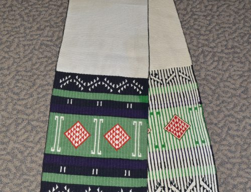 Navajo Germantown Wool and Cotton Hopi sash Bew#750