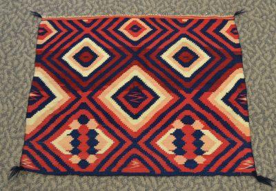 native american navajo baby saddle blanket circa 1865