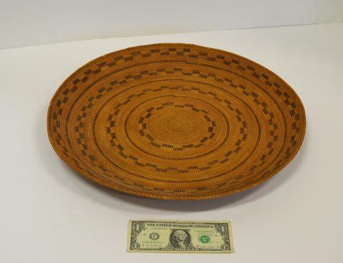 Native American Yokut Gambling Tray Circa 1900 Bew#869