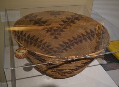 native american maidu world record size large woven basket