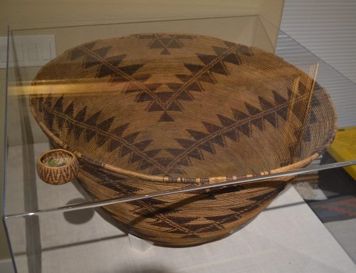Rare World Record Size Maidu Basket Circa 19th Century Bew#870