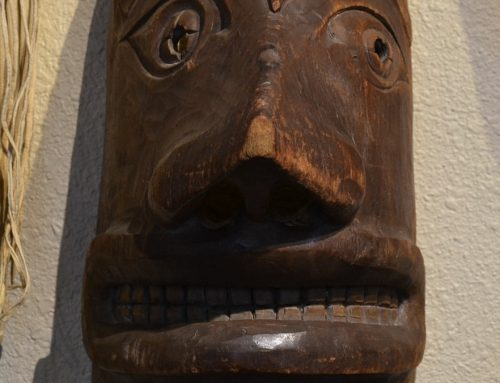 Native American Northwest Coast Mask Circa Late 19th-Early 20th Century Bew#877