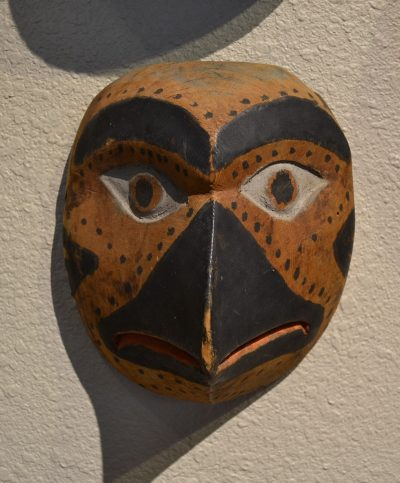 native american pacific northwest coast wood bird mask circa late 19th to early 20th century