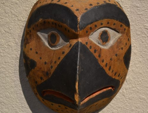 Native American Northwest Coast Bird Mask Circa Late 19th-Early 20th Century Bew#878