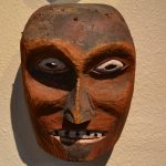 native american pacific northwest coast wood mask circa late 19th to early 20th century