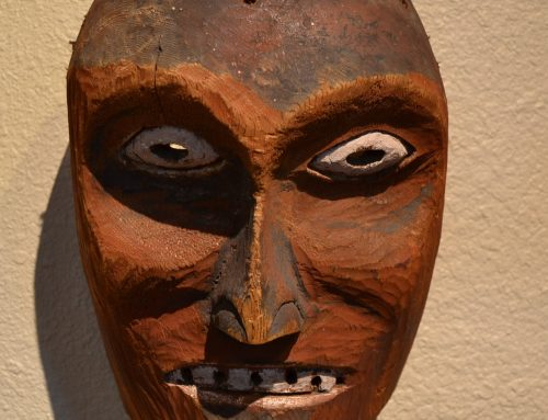 Native American Northwest Coast Mask Circa Late 19th-Early 20th Century Bew#880
