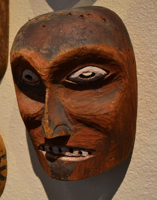 Native American Mask for Sale at Red Mesa Gallery Image 001