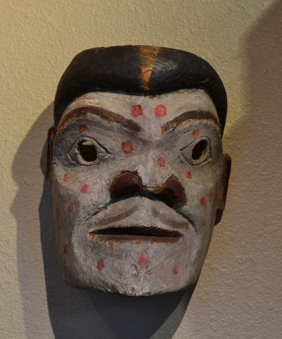 native american pacific northwest coast wood carved mask circa late 19th to early 20th century