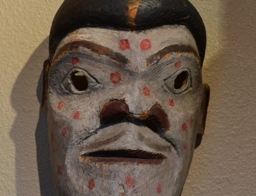 Native American Northwest Coast Mask Circa Late 19th-Early 20th Century Bew#881