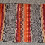 native american navajo double saddle woven blanket