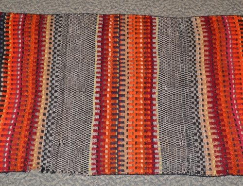 Native American Navajo Double Saddle Blanket Circa 1880-1890 Bew#885