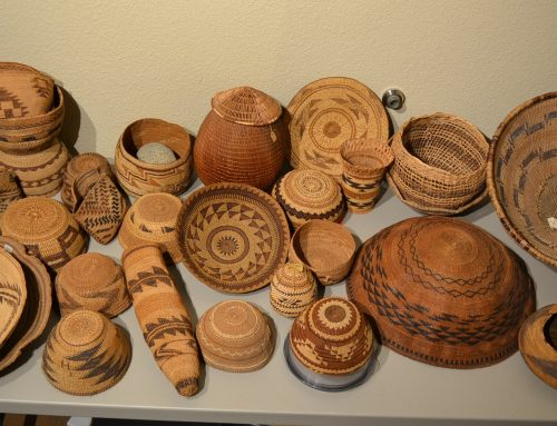 Group of Native American Baskets-Various sizes