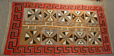 native american indian navajo red mesa large rug