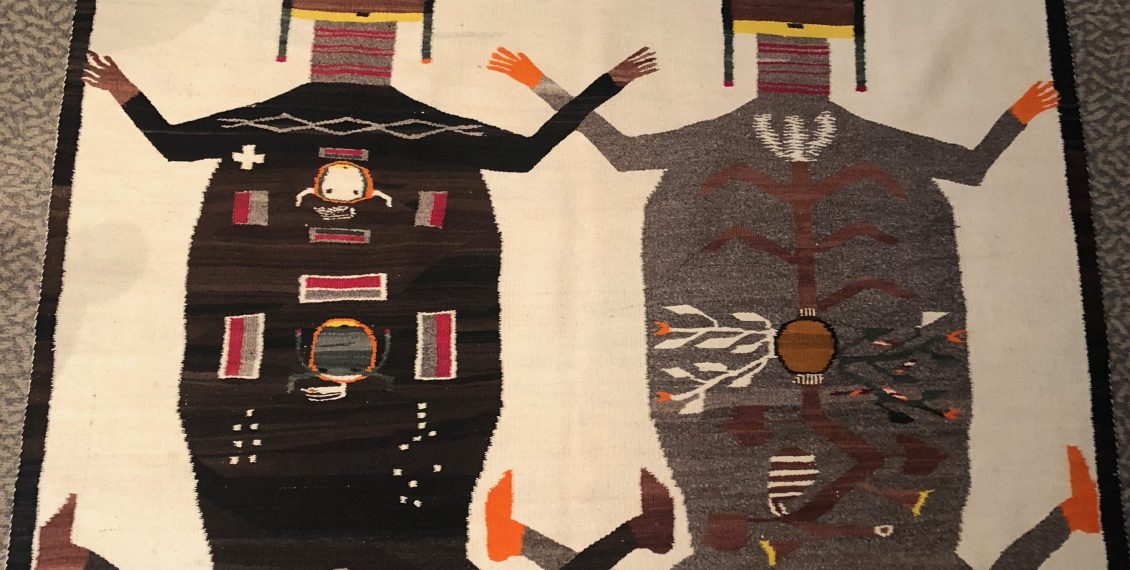 navajo rug; sandpainting; native american; indian