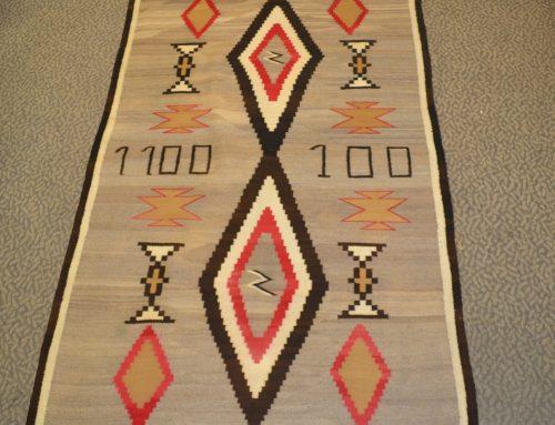 1920s 1930s Navajo Rug BEW #1105
