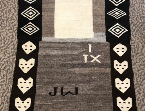 "Double Saddle Blanket ""I Heart Texas"" BEW#1104"