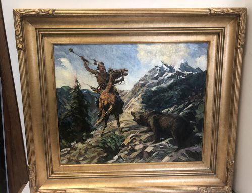 A Crow's Encounter with a Grizzly Bear Herbert M. Herget BEW #1108