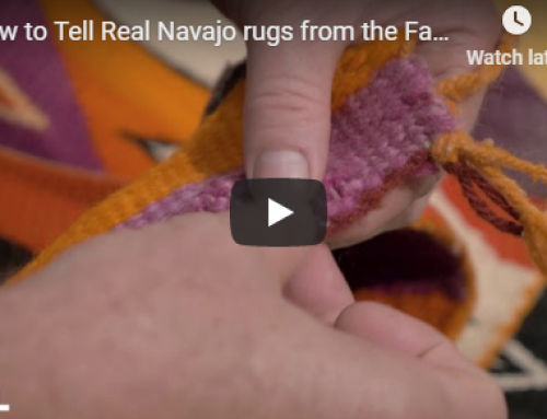 How to Tell Real Navajo Rugs from the Fake Ones
