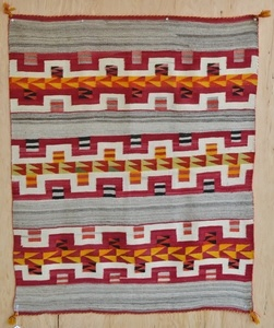 How to hang a Navajo rug/weaving