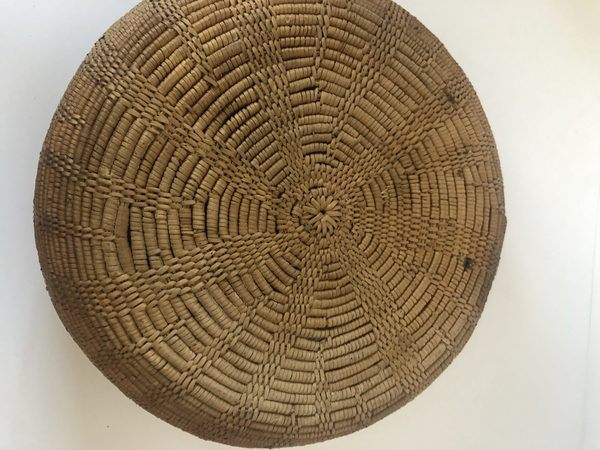 "A very nice Native American Maidu basket for sale. Measures 10"" Wide X 4"" Tall"