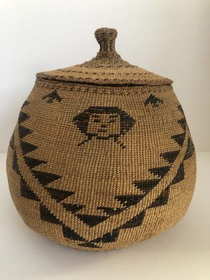 "A very nice Native American Modoc Captain Jack basket. Measures 10"" X 8"""