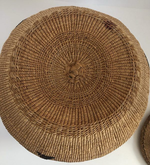 "A Native American Modoc Captain Jack Basket. This is a very nice piece in very good condition - just one minor stain on the bottom (see pictures). Feel free to call or email for more information or additional pictures. Measures 10"" X 8"""
