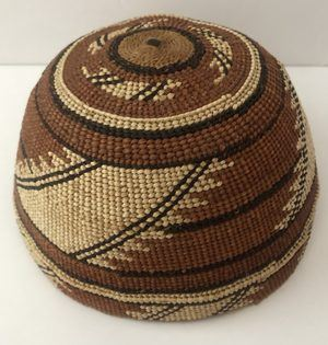 A Circa 1920s - 1930s Native American Hat in Excellent Condition 7 1/8""