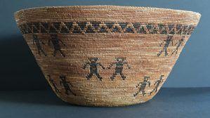 Yokut Friendship Basket Circa 1920-1930