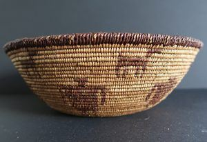 Apache Basket with Dogs or Deer