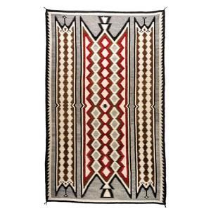 Navajo Regional Roomsize Weaving/Rug Circa 1925-1950